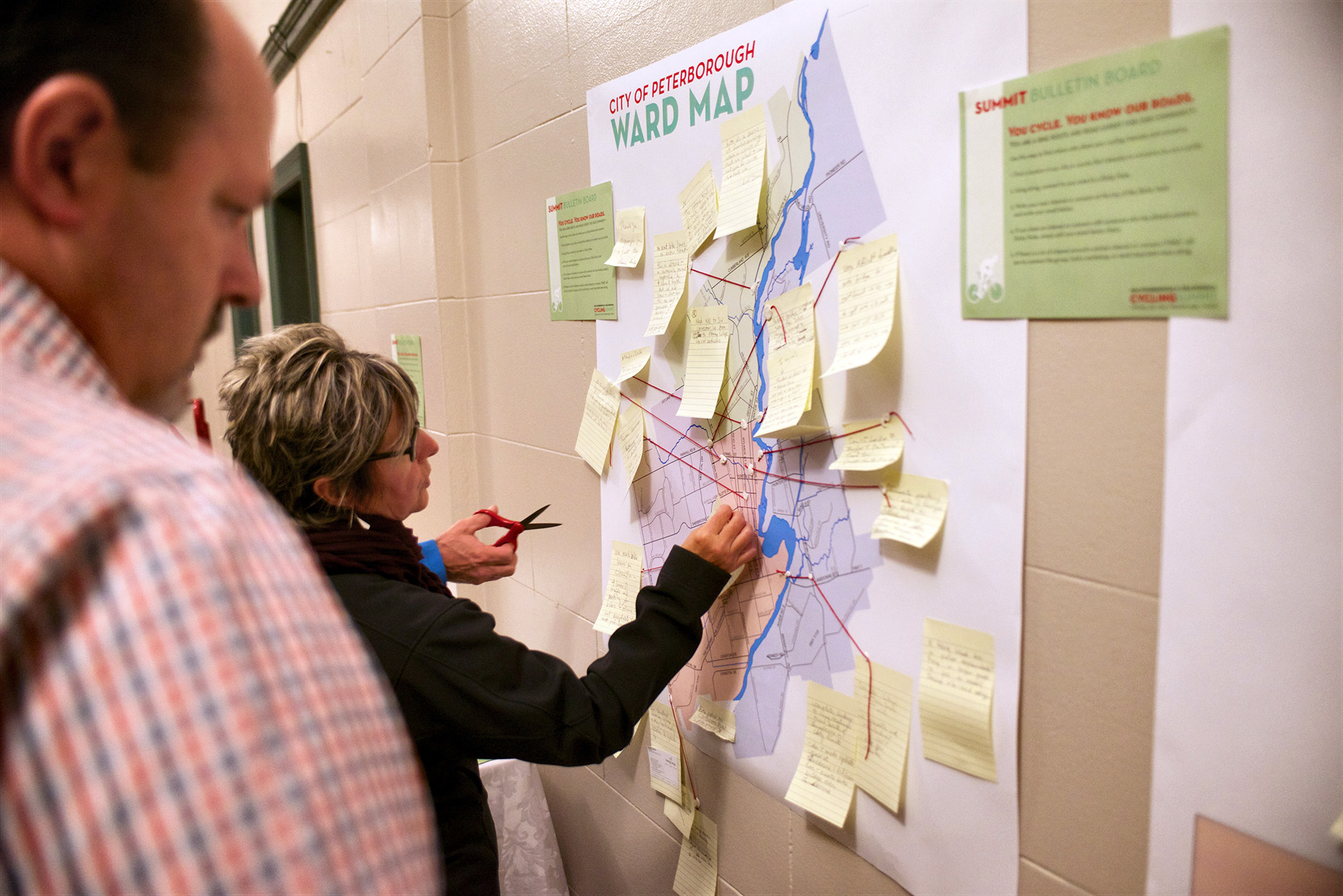 SUMMIT BULLETIN BOARD LISTS AREAS OF INTEREST AND CONCERN