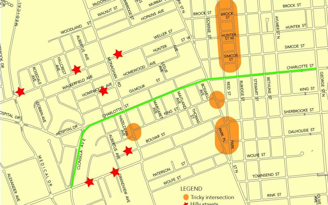 Bike Lanes on Charlotte