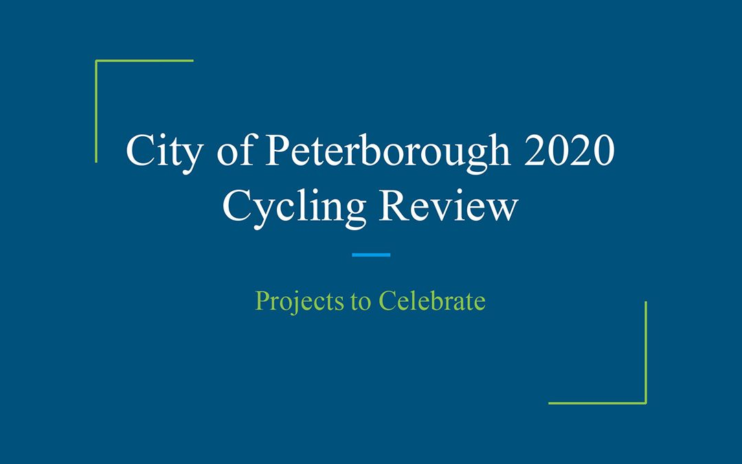 Peterborough 2020 Cycling Review